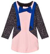 BANG BANG Copenhagen Pink and Spot Jacket Dress