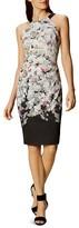 Karen Millen Ombré Blossom Sheath Dress