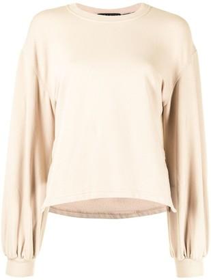 Alice + Olivia Round Neck Sweatshirt