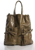 RED Valentino Beige Leather Tote Handbag Size Medium NEW