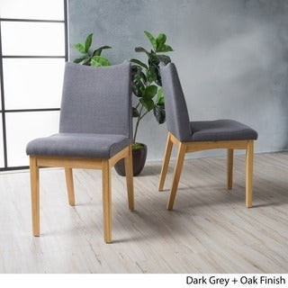 Christopher Knight Home Dimitri Mid-Century Fabric Dining Chair