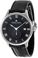Maurice Lacroix Men's MP6907-SS001-310 Tradition Analog Display Swiss Automatic Black Watch