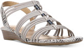 Naturalizer Jilly Strappy Flat Sandals