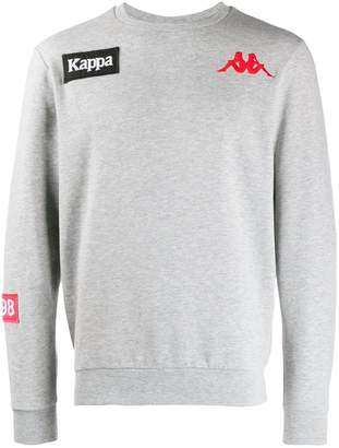 Kappa embroidered detail sweatshirt