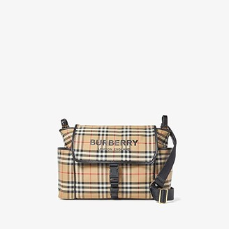 Burberry Flap Diaper Bag