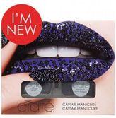 Ciaté Caviar Manicure Set - Black Pearls