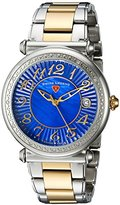 Swiss Legend Women's 'Bel Air' Quartz Stainless Steel Casual Watch, Color:Two Tone (Model: 16330SM-SG-33)