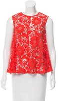 Rachel Comey Guipure Lace Sleeveless Top