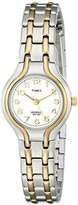 Timex Women's T27191 Elevated Classics Sport-Chic Two-Tone Bracelet Watch