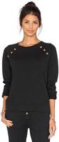 Rag Doll Ragdoll Sweatshirt with Brass Buttons