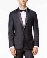Ryan Seacrest Distinction Men's Slim-Fit Gray Flannel Tuxedo Jacket, Only at Macy's