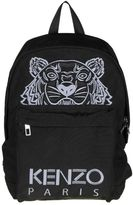Kenzo Backpack In Black Color With Logo