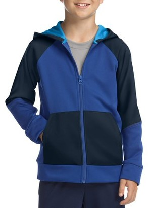 Hanes Boys 6-20 Tech Fleece Full Zip Active Hoodie
