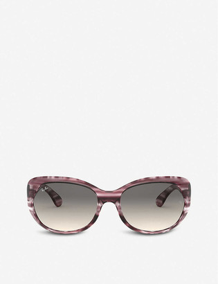 Ray-Ban RB4325 plastic bufferfly-frame sunglasses