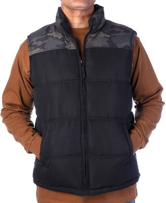 Smiths Workwear Men's Smith's Workwear Double Insulated Puffer Vest