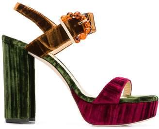 Chloe Gosselin Tori platform sandals