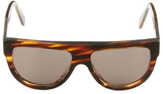 Celine 58MM Flat-Top Square Sunglasses