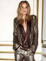 Paige Rosie HW x Collection Bessy Shirt - Black Metallic