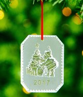 Waterford Crystal Twas the Night Before Christmas 2017 Ornament