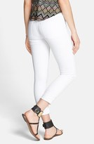Zoey Articles of Society 'Zoey' Crop Skinny Jeans (Optic White) (Juniors)