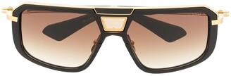 Dita Eyewear Two-Tone Square-Frame Sunglasses