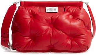 Maison Margiela Medium Glam Slam Leather Shoulder Bag