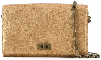 Officine Creative Metallic Clutch Bag