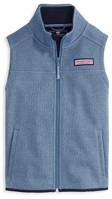Vineyard Vines Little Boy's & Boy's Sweater Fleece Vest