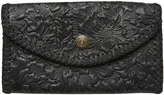 Element Peony Womens Leather Wallet Black