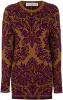 Golden Goose Deluxe Brand baroque round neck sweater
