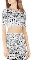 BCBGMAXAZRIA Gracy Knit Crop Top