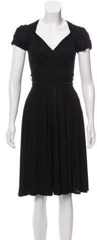 Gucci Midi Short Sleeve Dress
