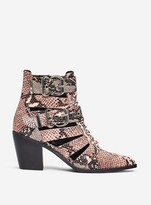 Dorothy Perkins Womens Lola Skye Pink 'Luna' Ankle Boots, Pink