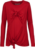 Marques Almeida Marques' Almeida Knotted stretch-jersey top