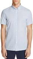 Billy Reid Murphy Jacquard Slim Fit Button-Down Shirt