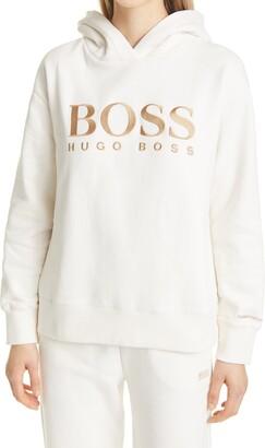 HUGO BOSS Edelight Active Logo Hoodie