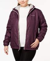 Columbia Plus Size Bella Plush Hooded Jacket