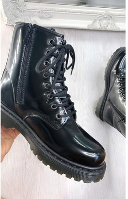 IKRUSH Rebecca Lace Up Ankle Boots