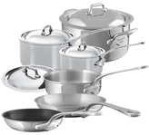 Mauviel M'cook Stainless Steel Cookware Set (10 PC)