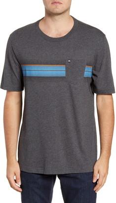 Travis Mathew Tweener Colorblock Stripe Short Sleeve T-Shirt
