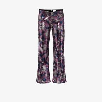 Collina Strada Mariposa sequin trousers