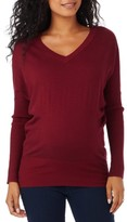 Women's Rosie Pope V-Neck Maternity Sweater