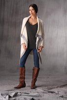 B Chyll Chloe Cashmere Wrap in Ivory/Grey