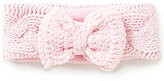Starting Out Baby Girls Knit Bow Cable-Knit Headband