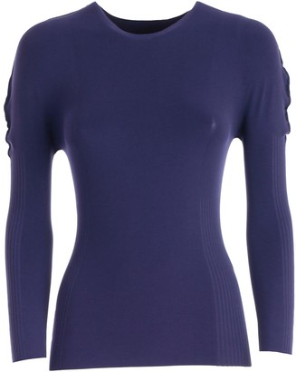Pleats Please Issey Miyake Stretch Fit Sweater