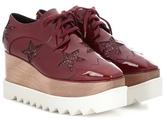 Stella McCartney Britt Glitter Platform Derby Shoes