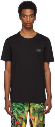 Dolce & Gabbana Black Plaque T-Shirt