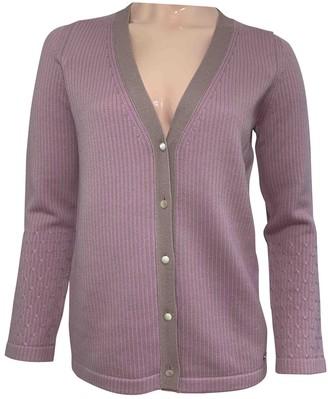 Salvatore Ferragamo Pink Wool Knitwear for Women Vintage
