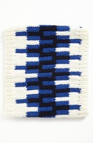 Jonathan Adler 'Stepped Chevron' Intarsia Knit Neck Warmer