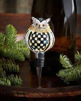 Mackenzie Childs MacKenzie-Childs Owl Bottle Stopper